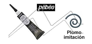 PEBEO CERNE RELIEF PASTA DE RELIEVE EN TUBO PLOMO IMITACIÓN