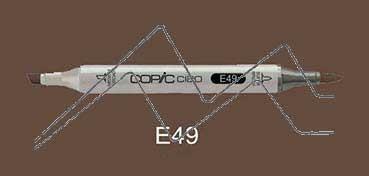 COPIC CIAO ROTULADOR DARK BARK E49