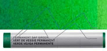 WINSOR & NEWTON BARRA DE ACUARELA VERDE VEJIGA PERMANENTE - SERIE 1 - Nº 503