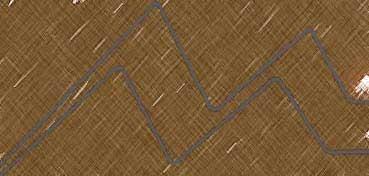 ART CHUNKY CRETACOLOR MARRÓN OLIVA - LONGITUD 80 MM