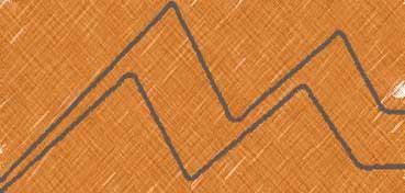ART CHUNKY CRETACOLOR OCRE OSCURO - LONGITUD 80 MM