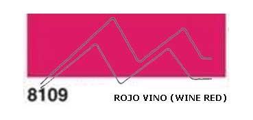JAVANA PINTURA PARA SEDA ROJO VINO (WINE RED) RFA.K8109