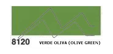 JAVANA PINTURA PARA SEDA VERDE OLIVA (OLIVE GREEN) RFA.K8120