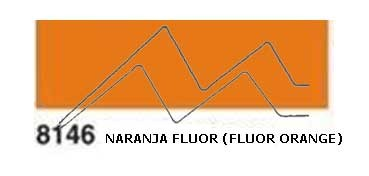JAVANA PINTURA PARA SEDA NARANJA FLUOR (FLUOR ORANGE) RFA.K8146