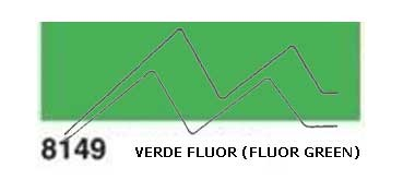 JAVANA PINTURA PARA SEDA VERDE FLUOR (FLUOR GREEN) RFA.K8149