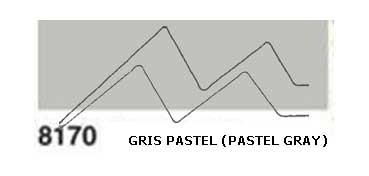 JAVANA PINTURA PARA SEDA GRIS PASTEL (PASTEL GRAY) RFA.K8170