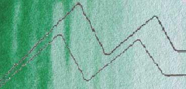 OLD HOLLAND ACUARELA CLÁSICA VERDE VIRIDIANO CLARO (VIRIDIAN GREEN LIGHT) Nº 046 SERIE 4