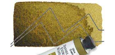 DANIEL SMITH EXTRA FINE WATERCOLOR TUBO OLIVE GREEN (VERDE OLIVA), PIGMENTO: PY 97, PB 29, PBR 7, PY42, SERIE 1 Nº 63