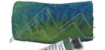 DANIEL SMITH EXTRA FINE WATERCOLOR TUBO CASCADE GREEN (VERDE CASCADA), PIGMENTO: PBR 7, PB 15, SERIE 1 Nº 142