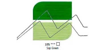 DALER ROWNEY ÓLEO FINO GRADUATE SAP GREEN Nº 375