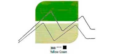 DALER ROWNEY ÓLEO FINO GRADUATE YELLOW GREEN Nº 388
