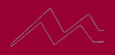 DALER-ROWNEY CARTÓN PASSE-PARTOUT ALMA BLANCA 1,4 MM - CRIMSON Nº 016