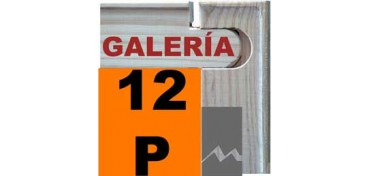 BASTIDOR GALERÍA 3D (ANCHO DE LISTON 46 X 32) 61 X 46 12P