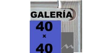 BASTIDOR GALERÍA 3D (ANCHO DE LISTON 46 X 32) 40 X 40