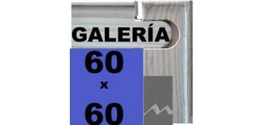 BASTIDOR GALERÍA 3D (ANCHO DE LISTON 46 X 32) 60 X 60