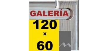 BASTIDOR GALERÍA 3D (ANCHO DE LISTON 46 X 32) 120 X 60