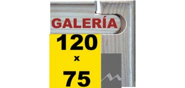 BASTIDOR GALERÍA 3D (ANCHO DE LISTON 46 X 32) 120 X 75