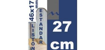 LISTÓN ESTUDIO (46 X 17) - 27 CM