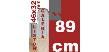 LISTÓN GALERÍA 3D (46 X 32) - 89 CM