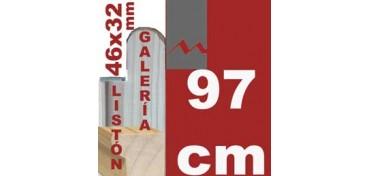 LISTÓN GALERÍA 3D (46 X 32) - 97 CM