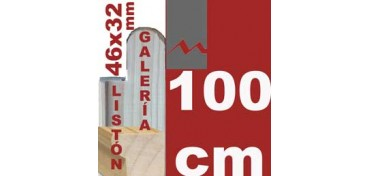 LISTÓN GALERÍA 3D (46 X 32) - 100 CM