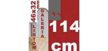 LISTÓN GALERÍA 3D (46 X 32) - 114 CM