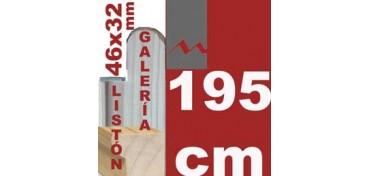 LISTÓN GALERÍA 3D (46 X 32) - 195 CM
