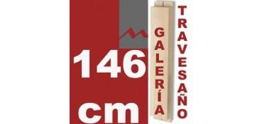 TRAVESAÑO PARA BASTIDOR GALERÍA 3D (46 X 17) - 146 CM