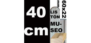 LISTÓN MUSEO (60 X 22) - 40 CM