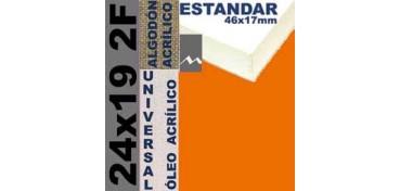 BASTIDOR ESTUDIO 46 X 17 ALGODÓN Nº2 (GRANO FINO) 24 X 19 2F (ÓLEO/ACRÍLICO)