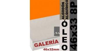 BASTIDOR GALERÍA 3D 46 X 32 ALGODÓN Nº2 (GRANO FINO) 46 X 33 8P (ÓLEO)