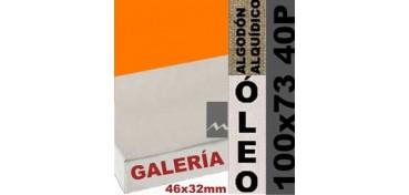 BASTIDOR GALERÍA 3D 46 X 32 ALGODÓN Nº2 (GRANO FINO) 100 X 73 40P (ÓLEO)