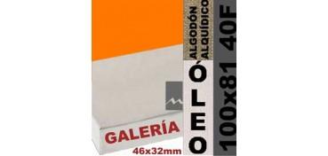BASTIDOR GALERÍA 3D 46 X 32 ALGODÓN Nº2 (GRANO FINO) 100 X 81 40F (ÓLEO)