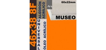 BASTIDOR MUSEO 60 X 22 ALGODÓN Nº2 (GRANO FINO) 46 X 38 8F (ÓLEO/ACRÍLICO)
