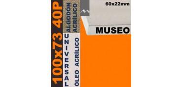 BASTIDOR MUSEO 60 X 22 ALGODÓN Nº2 (GRANO FINO) 100 X 73 40P (ÓLEO/ACRÍLICO)