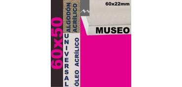 BASTIDOR MUSEO 60 X 22 ALGODÓN Nº2 (GRANO FINO) 60 X 50 (ÓLEO/ACRÍLICO)