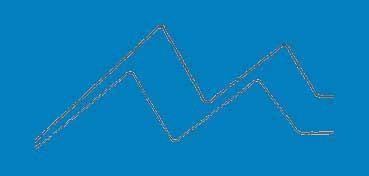 DECOART GLASS STAIN AZUL (BLUE) GLS09