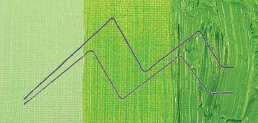COBRA STUDY ÓLEO AL AGUA VERDE AMARILLENTO CLARO (PERMANENT GREEN LIGHT) - Nº 618