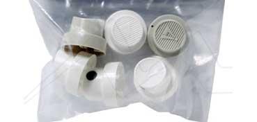 AMSTERDAM SPRAY ACRÍLICO - 6 DIFUSORES PARA EFECTOS ESPECIALES - 2 X SUPER SKINNY 1,5 CM - 2 X SOFT 3,5 CM - 2 X FAT 6 CM -