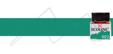 TALENS ECOLINE ACUARELA LÍQUIDA VERDE OSCURO Nº 602