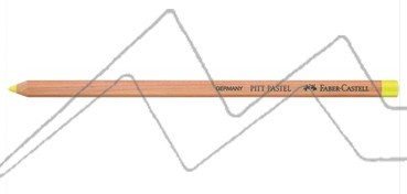 LÁPIZ PITT PASTEL FABER-CASTELL - AMARILLO CLARO TRANSPARENTE Nº 104