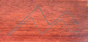 FOLKART STAINS TINTE PARA MADERA BARN RED ( ROJO) Nº 2807