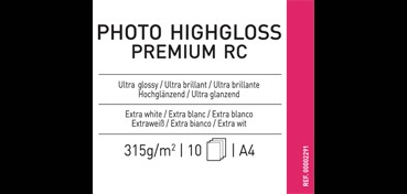CANSON INFINITY PHOTO HIGHGLOSS PREMIUM RC 315G