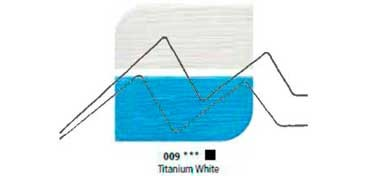 DALER ROWNEY ÓLEO FINO GRADUATE TITANIUM WHITE Nº 009
