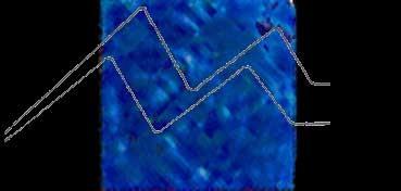 GALLERY GLASS BLUE SPARKLE 59 Nº 16427