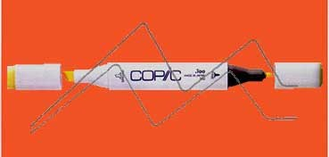 COPIC MARKER CHINESE ORANGE YR09