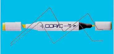 COPIC MARKER CYANINE BLUE B16