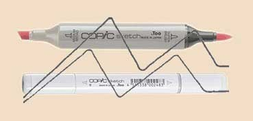 COPIC SKETCH DULL IVORY E43