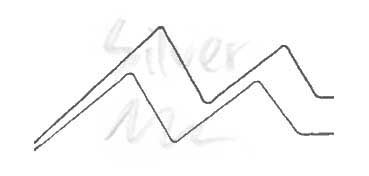 KURETAKE ZIG WINK OF STELLA GLITTER PEN - ROTULADOR PERLADO - SILVER Nº 102