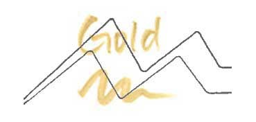KURETAKE ZIG WINK OF STELLA GLITTER PEN - ROTULADOR PERLADO - GOLD Nº 101